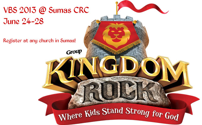 Kigndom Rock - VBS 2013 at Sumas CRC